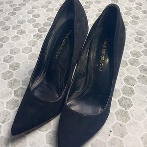 Shoe Republic LA Sz 7.5 Suede Heel